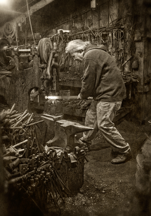 Blacksmith – Dan Routh Photography