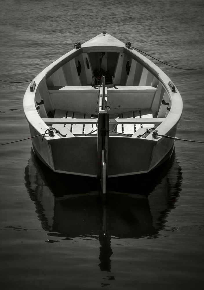 beaufort_nc_wooden boat_bw