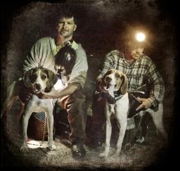 coon-hunters