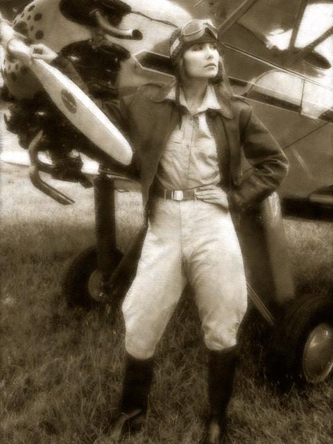 girl-and-biplane