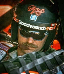 Closeup of Dale Earnhardt
