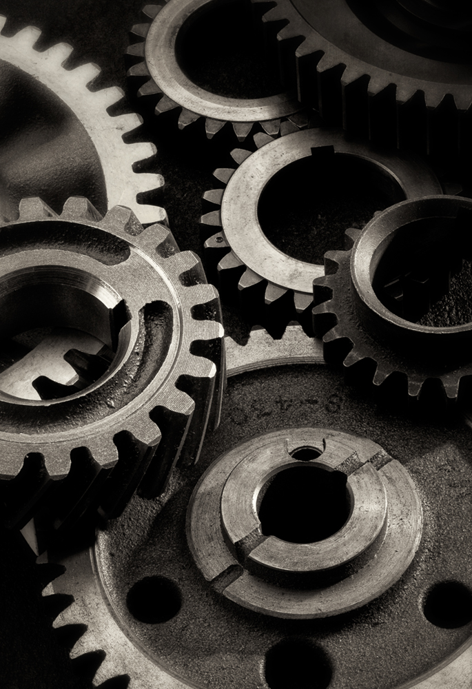 metal gears_bw