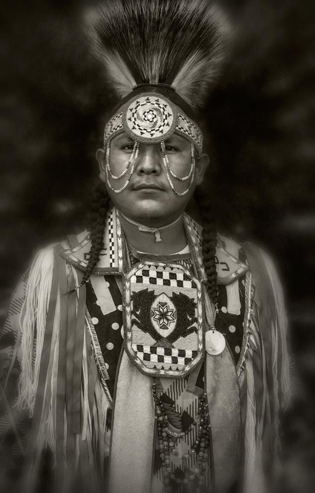 navajo dancer portrait