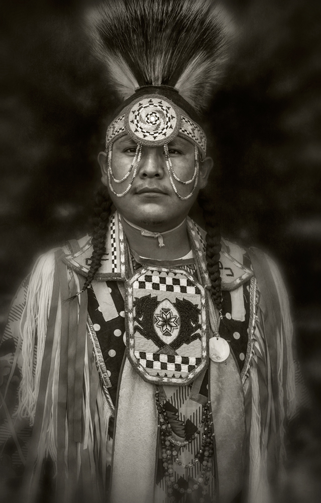 navajo dancer portrait
