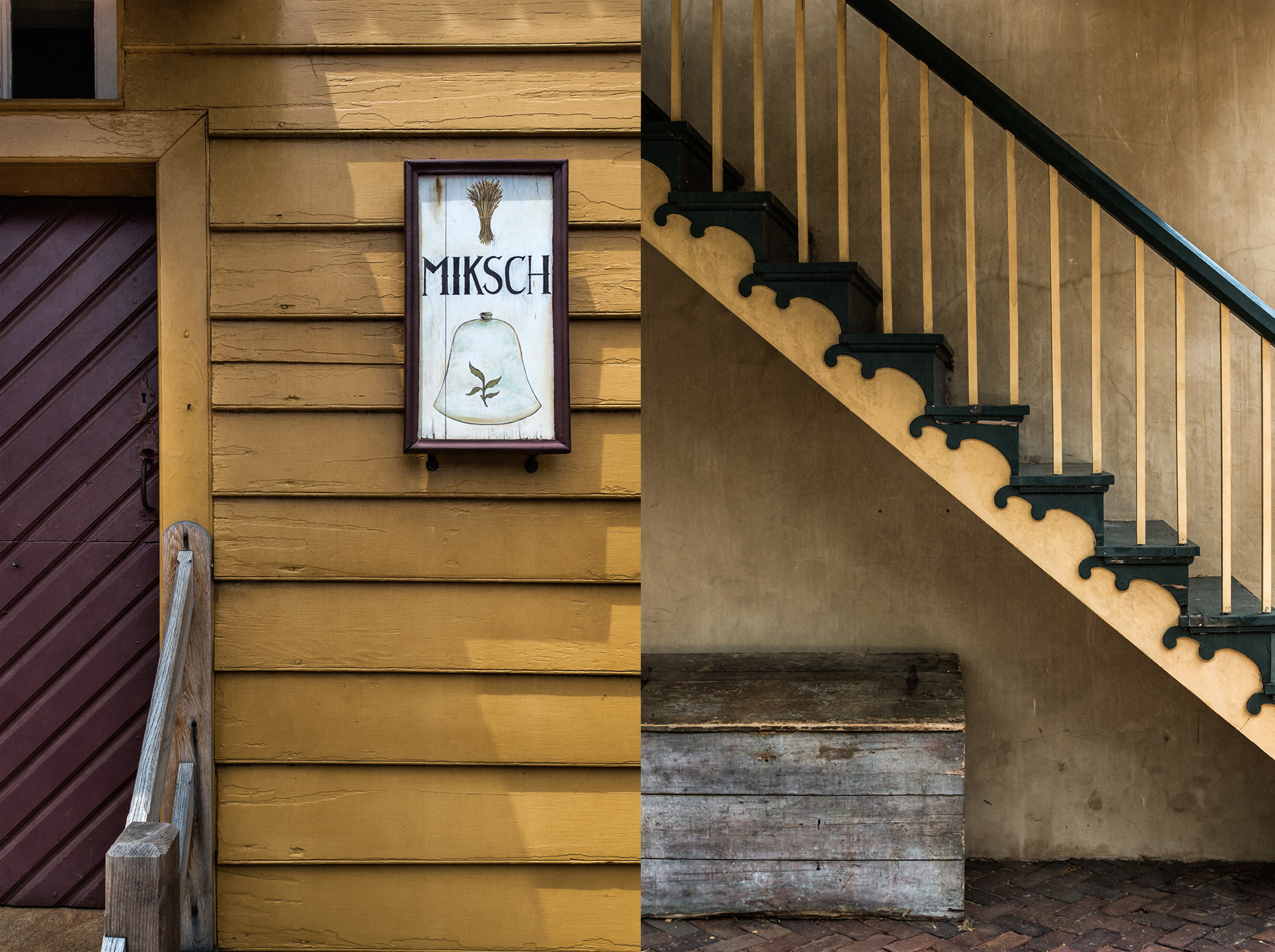 old salem sign_stair_group