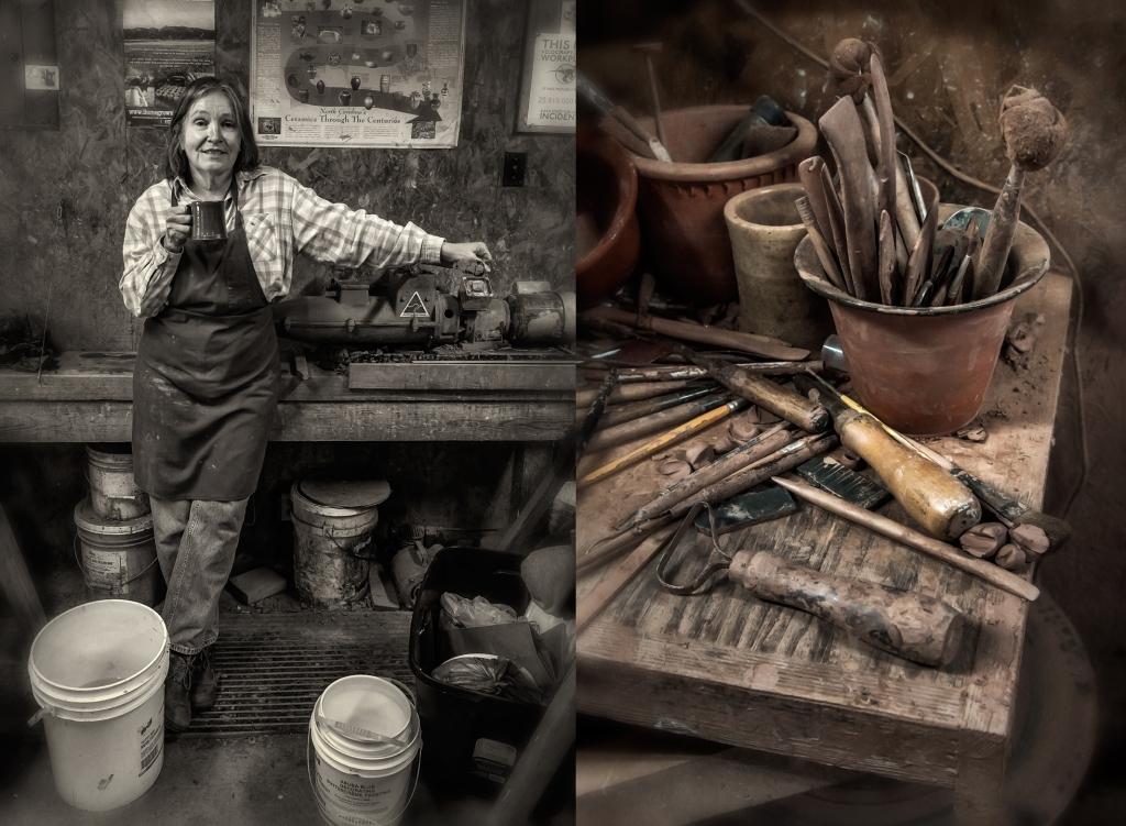 H Pugh Pottery Potter – Dan ...